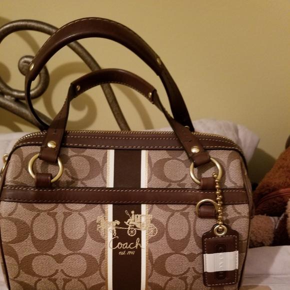 Coach Handbags - COACH SIGNATURE C small bag